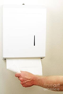 Towel Dispenser Poster by Lee Serenethos