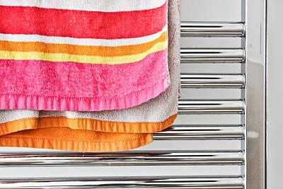 Towel Rail Poster by Tom Gowanlock