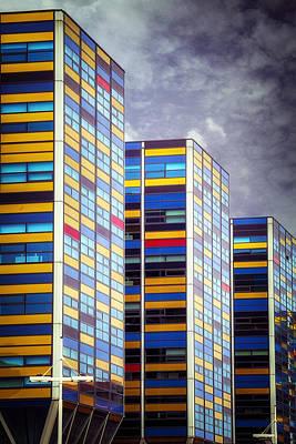 Tower Buildings Poster by Joana Kruse