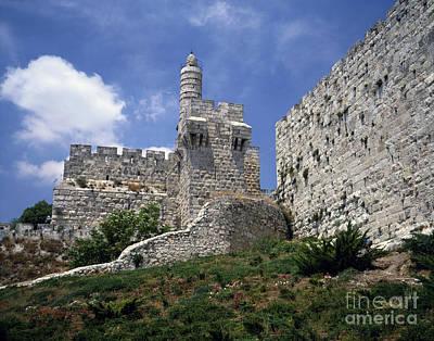 Tower Of David, Jerusalem Poster by Rafael Macia