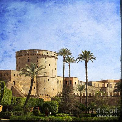Tower Of Mohamed Ali Citadel In Cairo Poster by Mohamed Elkhamisy