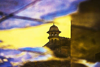 Tower Reflection Poster by Prakash Ghai