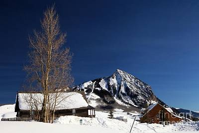 Towering Above Crested Butte Poster by Adam Jewell