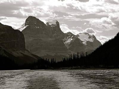 Towering Peaks Poster