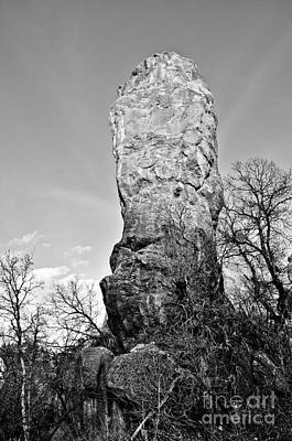 Towering Rock Poster