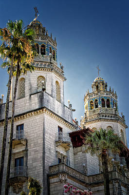 Towers At Hearst Castle - California Poster