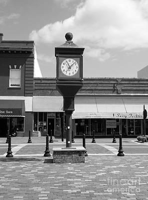 Town Clock Poster by D Hackett