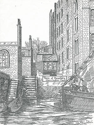 Town Of Ramsgate Wapping From The River Poster by Mackenzie Moulton
