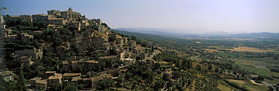 Town On A Hill, Gordes, Vaucluse Poster by Panoramic Images
