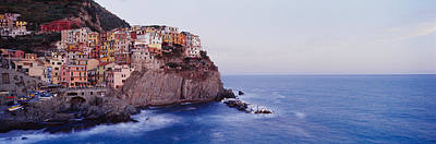 Town On A Hillside, Manarola Poster by Panoramic Images