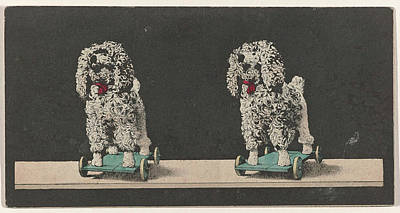Toy, Dog On Wheels Poster