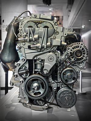 Toyota Engine Poster