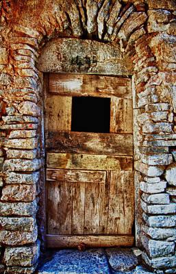 Traditional Door 3 Poster