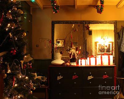 Traditional English Christmas Poster