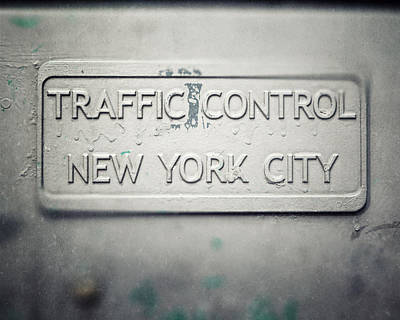 Traffic Control Poster by Lisa Russo