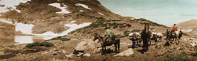 Poster featuring the photograph Trail Ride Two by Ron Crabb
