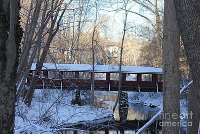 Trail River Covered Bridge Poster