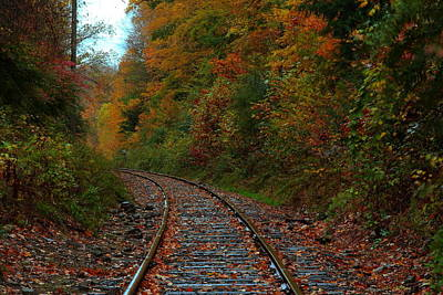 Train Fall Poster