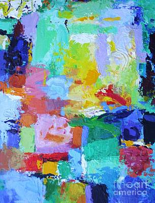 Praise Him For His Mighty Acts - Psalm 150 2 - Abstract Expressionist Painting Poster