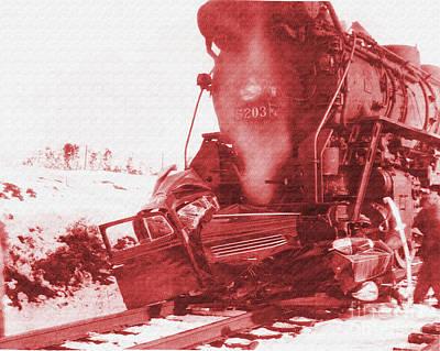Train V Car Poster