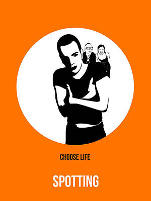 Trainspotting Poster 2 Poster by Naxart Studio