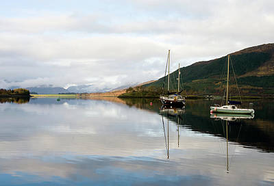Tranquil Scottish Scene Poster by Jacqi Elmslie