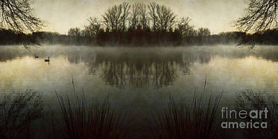 Tranquility Lake Poster by Doug Sturgess
