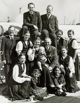 Trapp Family, 1939 Poster