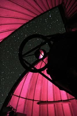 Trappist Telescope Poster by Eso/e.jehin