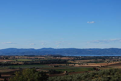 Trasimeno Viewpoint Poster by Dorothy Berry-Lound