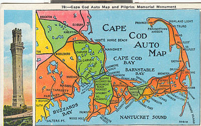 Traveling Memories Of Cape Cod Poster by Jeff Folger