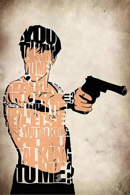 Travis Bickle - Robert De Niro Poster by Ayse Deniz