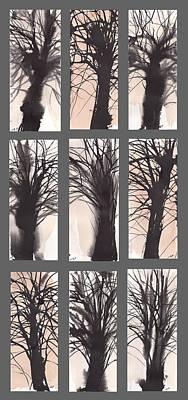 Tree Grid Poster by Sumiyo Toribe