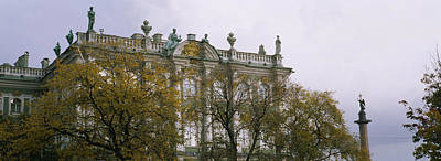 Tree In Front Of A Palace, Winter Poster by Panoramic Images