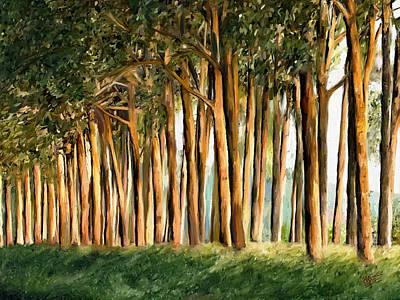 Tree Line Poster by James Shepherd