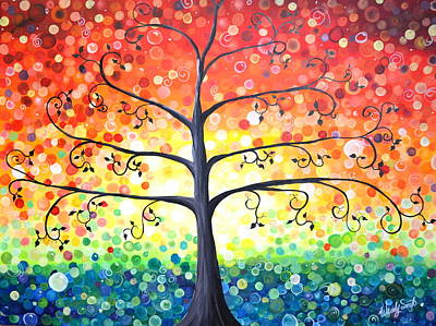 Tree Of Promises Poster by Wendy Smith