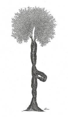 Tree Pose Poster