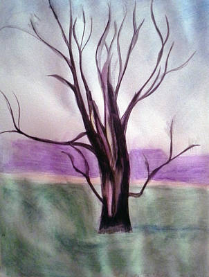 Tree Watercolor Poster