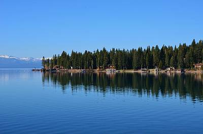 Treeline Lake Tahoe Poster