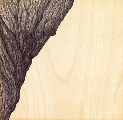 Treerock  Poster by Giuseppe Epifani
