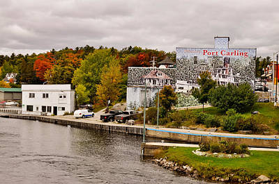 Trees On A Hill, Port Carling, Muskoka Poster by Panoramic Images