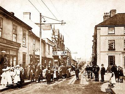 Trelowarren Street Camborne England Poster