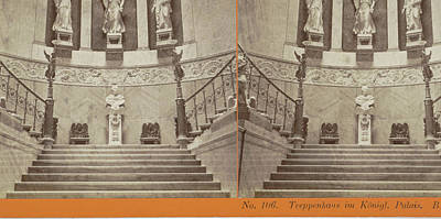 Treppenhaus Im Königl Palais Berlin, Germany Poster
