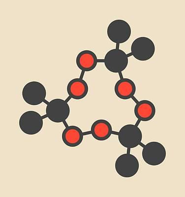 Triacetone Triperoxide Molecule Poster by Molekuul