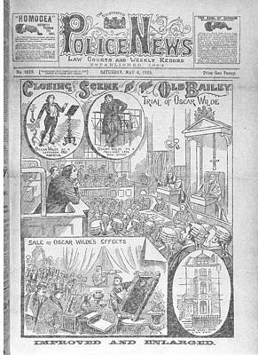 Trial Of Oscar Wilde Poster