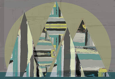 Triangle Landscape II Poster by Shanni Welsh