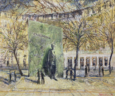 Tribute To Wallenberg, 1998 Oil On Canvas Poster by Patricia Espir