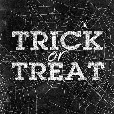 Trick Or Treat Poster by Sd Graphics Studio