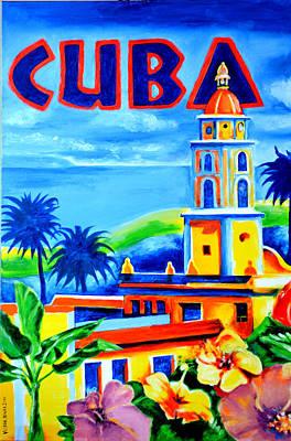 Trinidad Cuba Poster by Victor Minca
