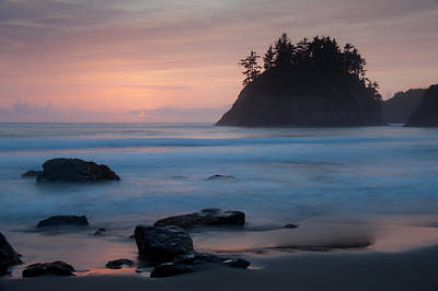 Trinidad Sunset - Another View Poster by Mark Alder
